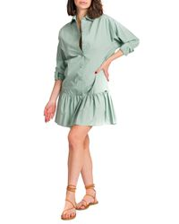 Cristina - abito popeline camicia - Shiki - Modalova