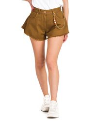 Syros - shorts di jeans a campana - Shiki - Modalova