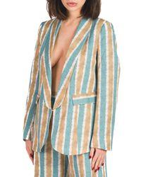 Glenda - giacca stampata con collo a scialle - Shiki - Modalova