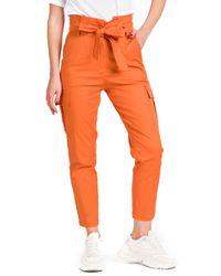 Maddalena - pantalone con pieghe in vita - Shiki - Modalova