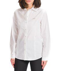 Camilla - camicia basica con logo - Shiki - Modalova