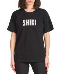 Sabrina - t-shirt con stampa shiki - Shiki - Modalova