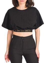 Stefania - t-shirt con elastico in vita - Shiki - Modalova