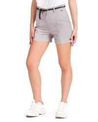 Gaia - shorts strutturato con cintura - Shiki - Modalova