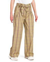 Mery - pantalone vita alta con fusciacca - Shiki - Modalova