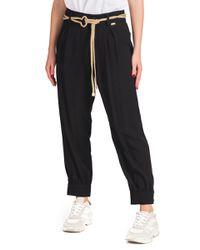 Manuela - pantalone con cintura - Shiki - Modalova