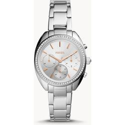 S Montre Vale chronographe en acier inoxydable - Fossil - Modalova