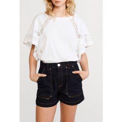 T-shirt court en coton biologique - CLAUDIE PIERLOT - Modalova