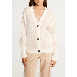 Cardigan en coton bio et laine traçable - CLAUDIE PIERLOT - Modalova