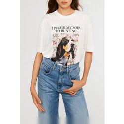 T-shirt en coton biologique - CLAUDIE PIERLOT - Modalova