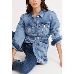 Blouson en jean économe en eau - CLAUDIE PIERLOT - Modalova