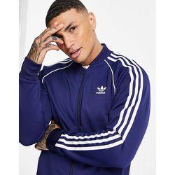 Adicolor - Haut de survêtement à logo troisbandes - Bleu - adidas Originals - Modalova