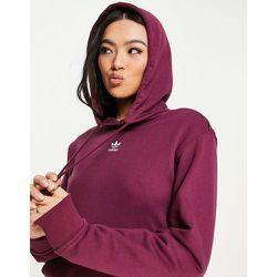 Essentials - Hoodie avec logo - Blanc et pourpre - adidas Originals - Modalova