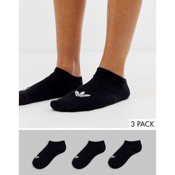 Lot de 3 paires de chaussettes de sport à logo trèfle - adidas Originals - Modalova