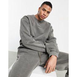 Premiums Sweats' - Sweat-shirt côtelé surteint - olive - adidas Originals - Modalova