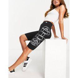 Short legging avec grand logo sur le côté - adidas Originals - Modalova