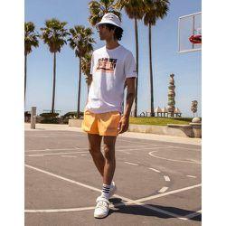 Summer Club - T-shirt oversize à imprimé graphique camping-car - adidas Originals - Modalova