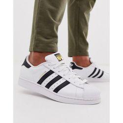 - Superstar Foundation- Baskets - Blanc - adidas Originals - Modalova