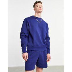 X Pharrell Williams - Sweat-shirt de qualité supérieure - Bleu foncé - adidas Originals - Modalova