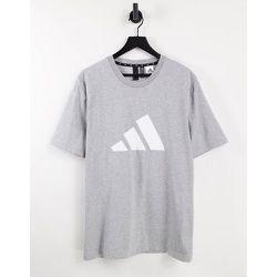 Adidas Training - T-shirt avec grand logo - adidas performance - Modalova