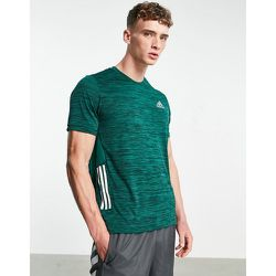 Adidas Training - T-shirt effet dégradé à 3 bandes - adidas performance - Modalova