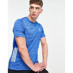 Adidas Training - T-shirt effet dégradé à 3bandes - adidas performance - Modalova