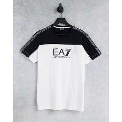 Armani - - T-shirt color block à manches courtes - EA7 - Modalova