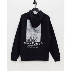 ASOS - Dark Future - Hoodie oversize avec imprimés logo et motifs photographique d'ensemble - ASOS Dark Future - Modalova