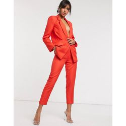 Pantalon de costume coupe dad effet rétréci - ASOS DESIGN - Modalova