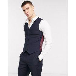 Veston de costume ajusté - Bleu - ASOS DESIGN - Modalova