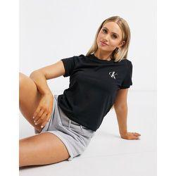 CK One - T-shirt ras de cou confort - Calvin Klein - Modalova