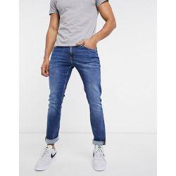 Jean slim à délavage moyen - Calvin Klein Jeans - Modalova