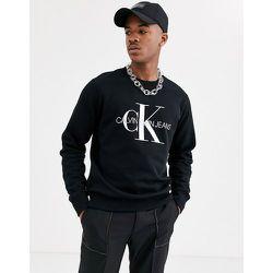 Sweat-shirt emblématique à monogramme - Calvin Klein Jeans - Modalova