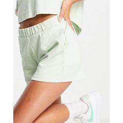 Sports - Short d'ensemble en jersey avec logo sur le côté - menthe - Calvin Klein - Modalova