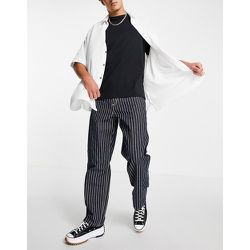 Trade Single - Pantalon droit et décontracté à rayures - hickory - Carhartt WIP - Modalova