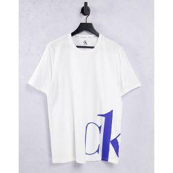 CK One - T-shirt ras de cou - Blanc - Calvin Klein - Modalova