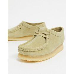 - Wallabee- Chaussures plates en daim - Erable - Clarks Originals - Modalova