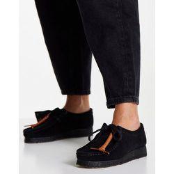 - Wallabee- Chaussures plates en daim - Clarks Originals - Modalova