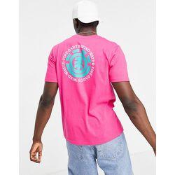 T-shirt avec logo au dos - Rose - Element - Modalova