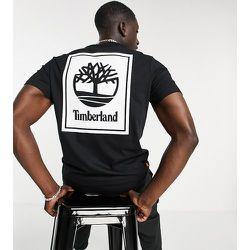 Exclusivité ASOS - - Back Stack - T-shirt - Noir - Timberland - Modalova