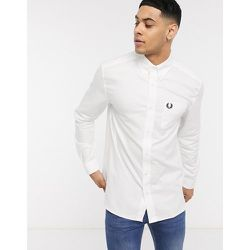 Fred Perry - Chemise Oxford - Blanc - Fred Perry - Modalova