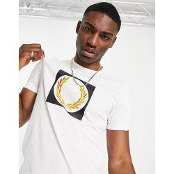 T-shirt avec motif couronne de laurier - Fred Perry - Modalova