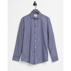 Chemise ajustée à rayures - Gianni Feraud - Modalova