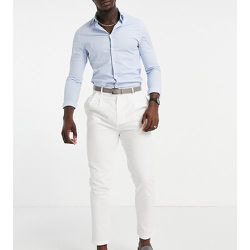 Tall - Pantalon plissé en lin - Gianni Feraud - Modalova