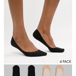 Lot de 4 paires de chaussettes invisibles - gipsy - Modalova