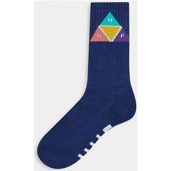 Chaussettes motif prisme - Bleu - HUF - Modalova