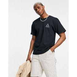 Essentials - T-shirt à motif trois triangles - HUF - Modalova