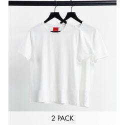 HUGO - Lot de 2 t-shirts à col rond - HUGO Bodywear - Modalova