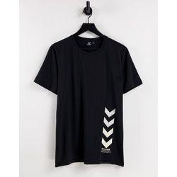 Hummel - Virgil - T-shirt - Noir - Hummel - Modalova