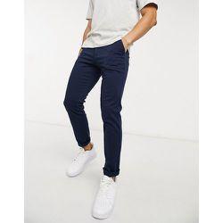Intelligence - Pantalon slim en tissu stretch - Bleu - jack & jones - Modalova